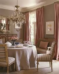 [ Dining Room Color Schemes For Your Inspiration Actual Home Open Concept Kitchen Living And ] - Best Free Home Design Idea & Inspiration Pink Dining Rooms, Elegant Dining Room, Dining Room Design, Dining Room Furniture, Dining Area, Furniture Ideas, Dining Chairs, Deco Rose, Interior Decorating