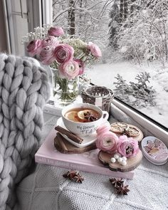 Good Morning Coffee, Flower Tea, Coffee Flower, Coffee And Books, Decoration, Cover Design, Pretty In Pink, Tea Time, Tea Party