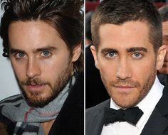 17 Celebrity Look-Alikes Jared Leto / Jake Gyllenhaal