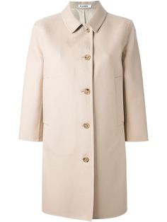 Shop Jil Sander single breasted coat in Ottodisanpietro from the world's best independent boutiques at farfetch.com. Over 1500 brands from 300 boutiques in one website.