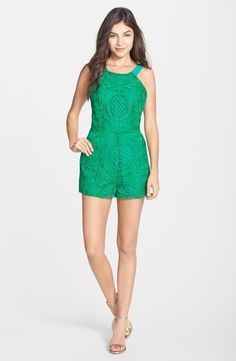 Embroidered Lace Romper: http://www.stylemepretty.com/living/2015/06/16/rompers-youll-want-to-live-in-this-summer/
