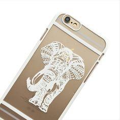 White Spirit Elephant Phone Case