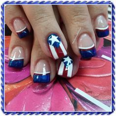 Puerto Rico! Next time I'm there, will get my nails done like this! :)