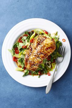 Soy-Glazed Cod and Bok Choy goodhousemag