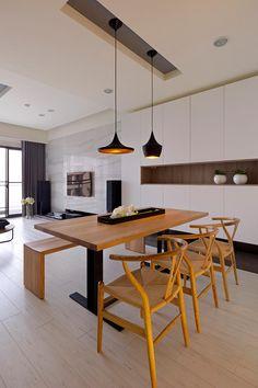Arquitectura y diseño: Apartamento en madera y marmol   Fertility Design