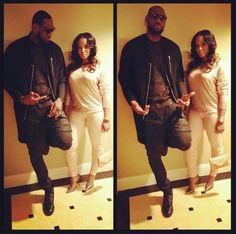LeBron James & wife Savannah Brinson