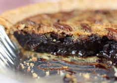Super-Fudgy Brownie Pecan Pie via Brit + Co.