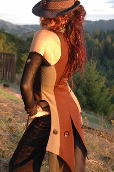 Ultimate Fitted Womens Vest Corset front by FlorioTempleTribal, $333.00