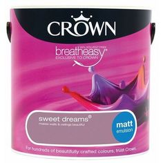 Crown Sweet Dreams 2.5L Matt Emulsion