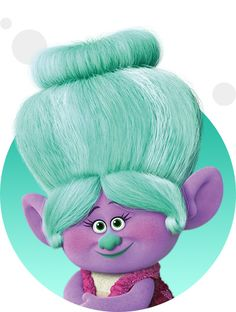 Grandma Rosiepuff isn't just Branch's grandmother — she's also the nanny to all of Troll Town's youngest trolls!