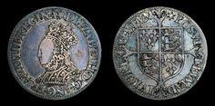 Tudor English Antique Coin Genuine Elizabeth I Silver Milled Shilling 1560 - British, Elizabethan Antique Coins, Old Coins, Rare Coins, Pirate Queen, Pirate Art, Old British Coins, Pirate Movies, Pirate Photo, Pirate Treasure