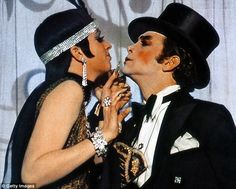 """Liza Minnelli & Joel Grey in """"Money"""" from """"Cabaret"""" Couple Aesthetic, Aesthetic Movies, Cabaret Movie, Joel Grey, Nostalgia, Jennifer Grey, Jazz, Liza Minnelli, Vintage Couples"""