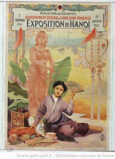 [Exposition de Hanoï] : Ministère des Colonies. Gouvernement Général de l'Indochine française. 3 novembre 1902-31 janvier 1903, Exposition d...