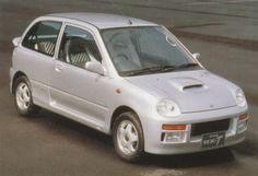 Subaru Vivio RX-T Concept '1995 Kei Car, Subaru Cars, Car Mods, Japanese Cars, Vans, Concept, Vehicles, Fuji, Compact