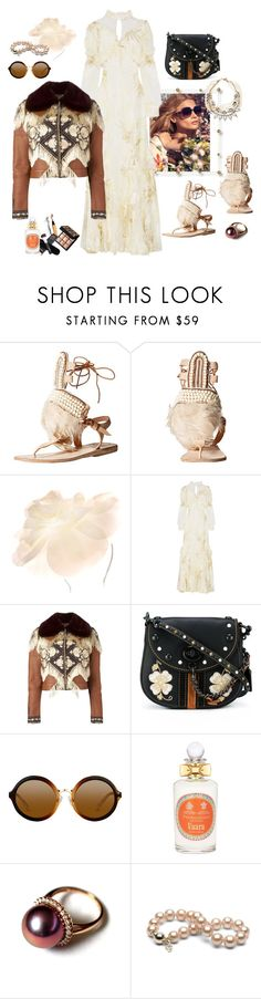"""Indian Summer"" by juliabachmann ❤ liked on Polyvore featuring Brother Vellies, Johnny Loves Rosie, Blumarine, Erdem, Alexander McQueen, Coach, PENHALIGON'S and Lulu Frost"