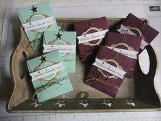 ...kleine Tee-Goodies...und noch eine Magnetbestellung.... Stamping Up, Goodies, Blog, Decor, Tea Packaging, Coffee Or Tea, Host Gifts, Linen Fabric, Packaging