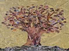 A Arte de Silvio Alvarez: Colagem – Produção de painel para Museu da Sustentabilidade – Praça Victor Civita – Arte Ambiental