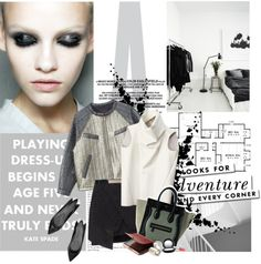 """Playing dress-up begins at age five and never truly ends."" by blackpearls ❤ liked on Polyvore"