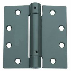 Global CPS4550ADJ-USPM Commercial Grade, Full Mortise Spring Hinge 2-Pack, Cast Steel by Global. $23.16. From the Manufacturer                Global CPS series full mortise single acting spring hinge is recommended for use where automatic self closing of a door is required. This three knuckle hinge is adjustable and the spring tension can be increased or decreased by using the included adjusting tool.  Constructed and finished in Cast Steel, this heavy duty full...