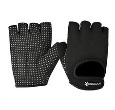 Half Finger Gloves Mens Womens Sportswear GYM Weightlifting Exercise Bicycle Cycling Short NonSlip Gel Pad Breathable Gloves Outdoor Sports Fitness Gloves for Women Men Girls Boys TeensBlackL >>> Click image to review more details.(This is an Amazon affiliate link and I receive a commission for the sales)