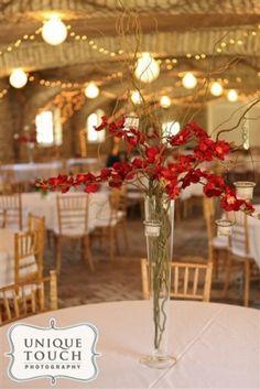 Mayowood Stone Barn wedding reception Rochester MN - Le Jardin Floral www.lejardinfloral.com