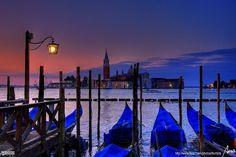 Sonnenaufgang in Venedig von Mor BCN