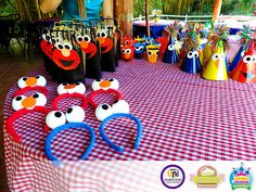 decoracion de fiesta plaza sesamo - Buscar con Google
