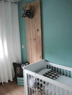 Mint blauwe #kinderkamer | Mint blue #kidsroom