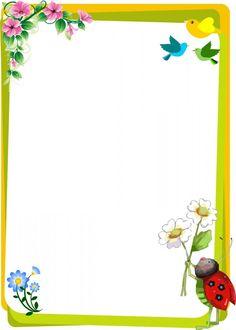 wwwlindascaratulascom HOY ES EL DIA DE CAMBIAR AL MUNDO print Boarder Designs, Page Borders Design, Butterfly Frame, Flower Frame, Printable Border, Free Printable, Boarders And Frames, Kids Background, Borders For Paper