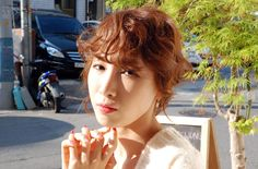 Chesnut Brown Color & Up Style Hair http://blog.naver.com/hairmaruni/110167750239