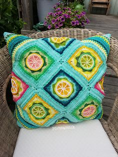 Ravelry: Lemon square pattern by Maria Brygt