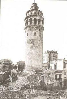 İstanbul, Galata Kulesi (1910'lar)