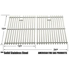 Stainless Steel Replacement Cooking Grid for Kenmore Gas Grill Models