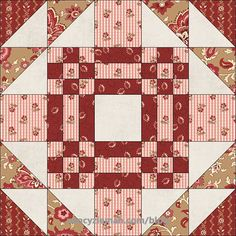 Introducing January's Block:Goose in the Pond* Welcome to the first block in the 2017Fat Quarter Mystery Quilt! All twelve, 15-inch finished-sized blocks, will be created from one 24-piece ...