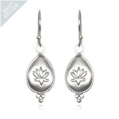 Blissful Blooms Earrings - Silver