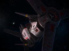 Derelict Spaceship, Michael Kingery on ArtStation at https://www.artstation.com/artwork/derelict-spaceship