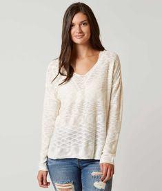 Daytrip Open Weave Sweater - Women's Sweaters in White | Buckle
