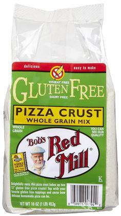 Gluten Free Pizza Mix: Bob's Red Mill Gluten Free Pizza Crust Mix- best crust we have tried thus far