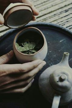 Tea leaves from japanese tea ceremony. Chocolate Cafe, Tea Culture, Japanese Tea Ceremony, Tea Art, Herbal Tea, Cacao, High Tea, Drinking Tea, Matcha