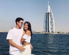 INSTA PIC: James Reid and Nadine Lustre in Dubai | CHISMS.net