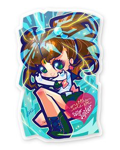 sailor jupiter bookmark by Bara Chan <3