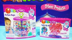 Orbeez Perfume Magic & Orbeez Light-Up Heart Magically Grow In Water Playset!