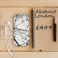 "White Stone Design Marble Phone Case✔ Apple and Samsung Galaxy Model ✔£4.99 ✔WorldWide Shipping use discount code ""pinterest123"" to get 10% off at checkout"