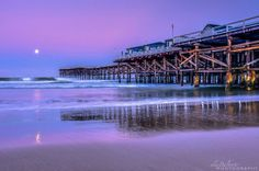 Crystal Pier by Alex Baltov Photography.