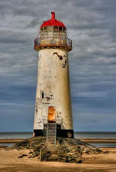 [Close up] Abandoned Lighthouse at Talacre Beach, Flintshire, North Wales, UK by Divonsir Borges Old Buildings, Abandoned Buildings, Abandoned Places, Abandoned Castles, Haunted Places, Abandoned Mansions, Abandoned Ships, Abandoned Cars, Lighthouse Painting