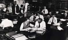 1950s newsroom - Google Search