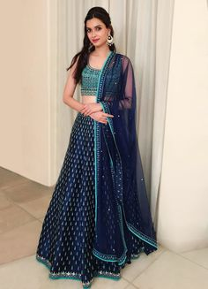 Showcase your beauty with this classy outfit for Just @ Rs 2150 /- To grab this look whatsapp @ 9054562754 Choli Designs, Lehenga Designs, Blouse Designs, Indian Bridal Fashion, Indian Wedding Outfits, Bridal Outfits, Indian Outfits, Pakistani Outfits, Indian Clothes