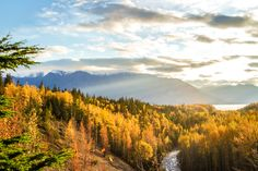 [OC] The Last Frontier in Autumn Chugach National Forest Alaska [5472x3648px] #reddit