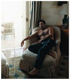 Minus the cigarette...HOT DAYUM... Annie Leibovitz - Jon Hamm