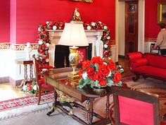 Red Room in the White house